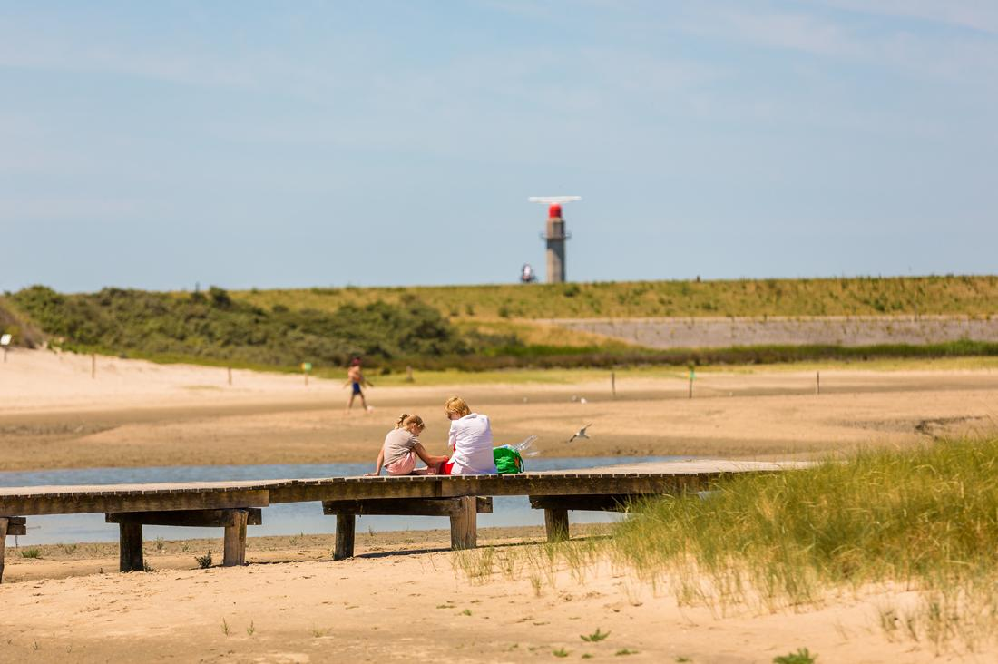 Umgebung des Strandes | Beach Resort Nieuwvliet-Bad